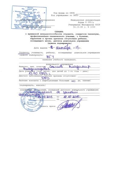 Получить водительскую справку быстро Москва Тропарёво-Никулино